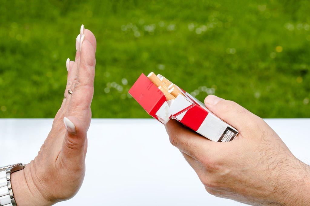 dire stop à la cigarette